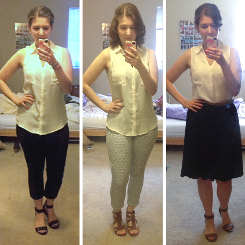 Capsule Wardrobe Resources & Examples - blogs and videos to inspire your own capsule!   theblissfulmind.com