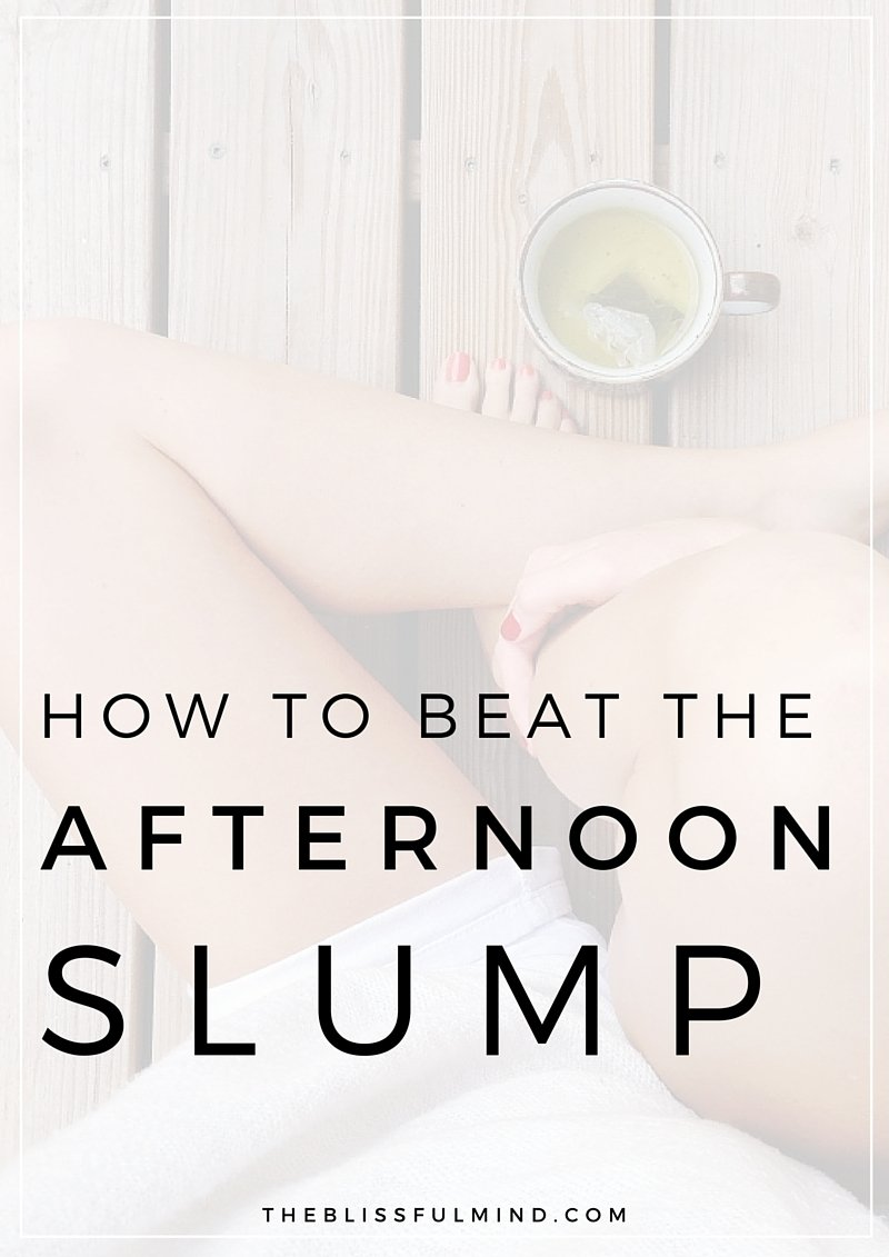 Simple tips to perk yourself up when you're feeling weighed down!