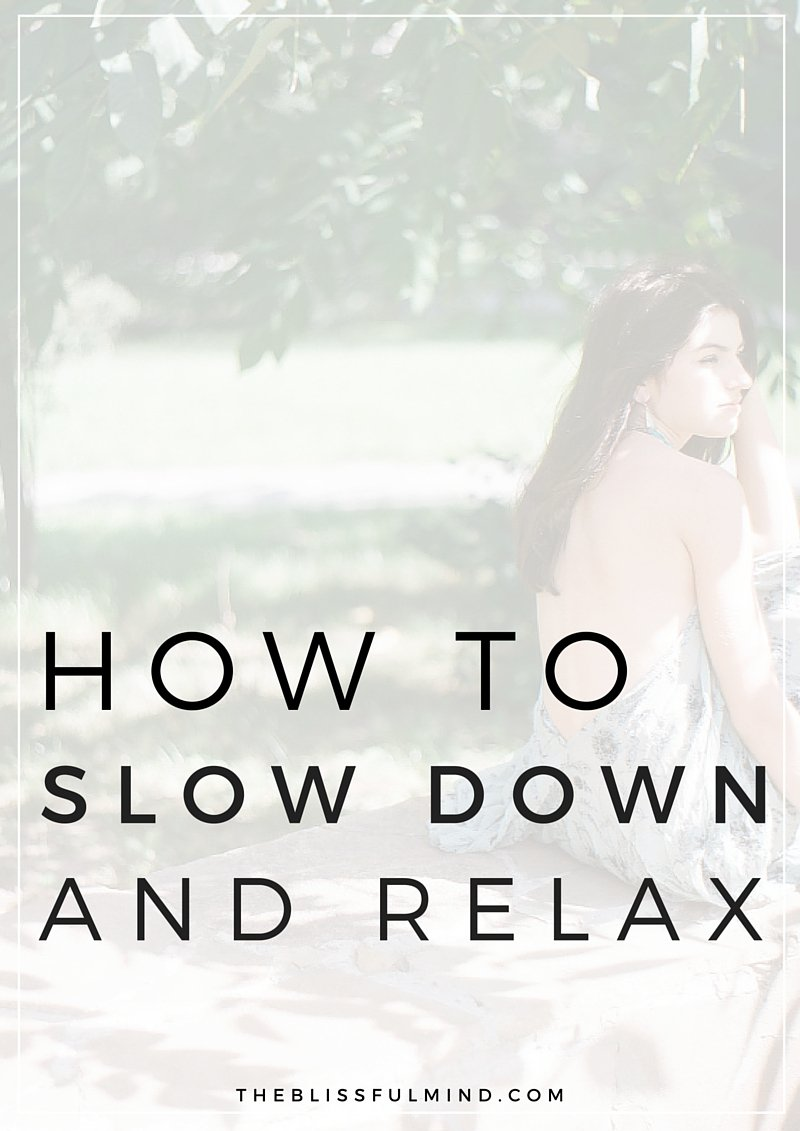 If you're feeling overwhelmed and rarely take time to enjoy things anymore, read this post and download the free wallpaper as a reminder to slow down! Free Wallpaper Download