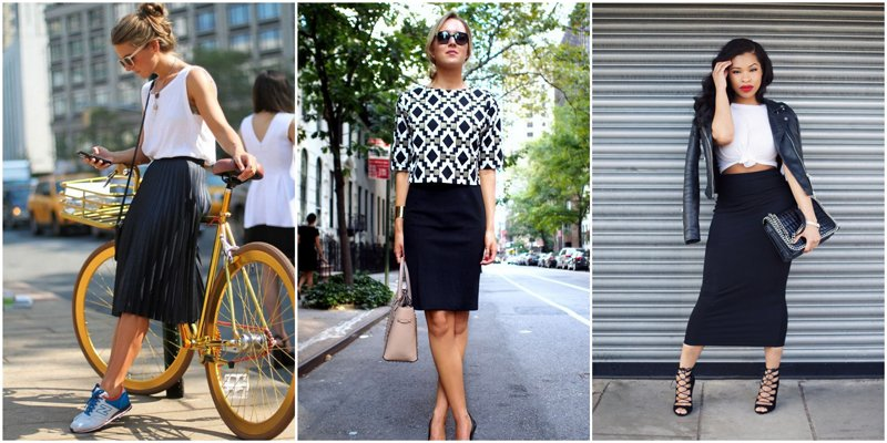 Capsule Wardrobe Basics: Black Skirt