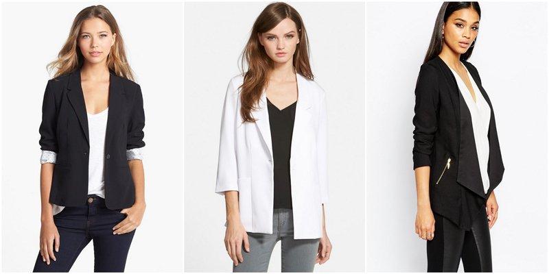Capsule Wardrobe Basics: Blazers