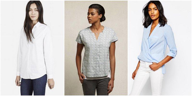 Capsule Wardrobe Basics: Blouses
