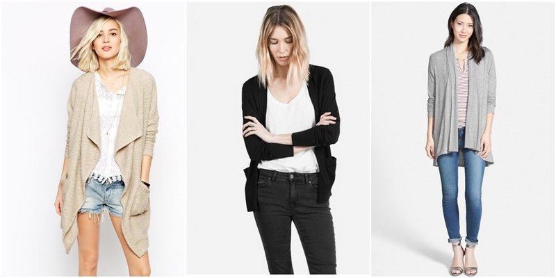 Capsule Wardrobe Basics: Cardigans