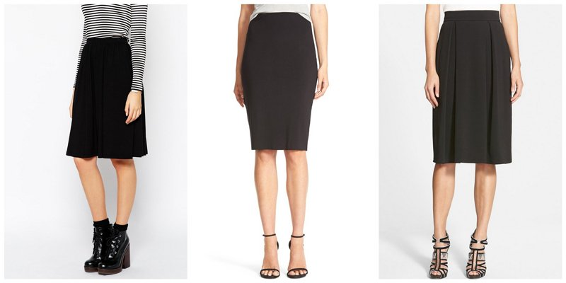 Capsule Wardrobe Basics: Skirts