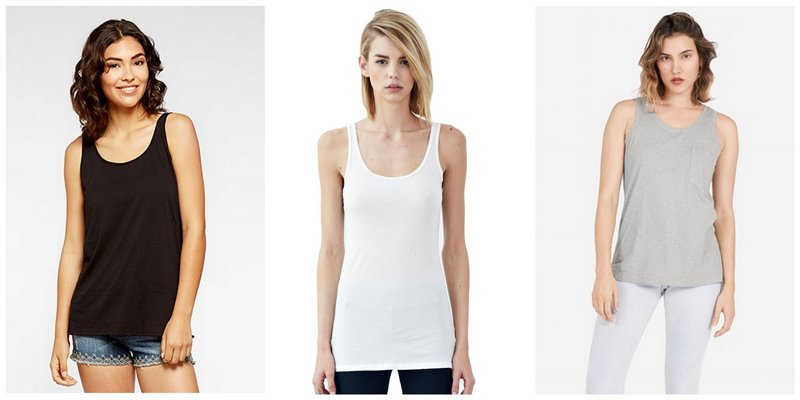 Capsule Wardrobe Basics: Tanks