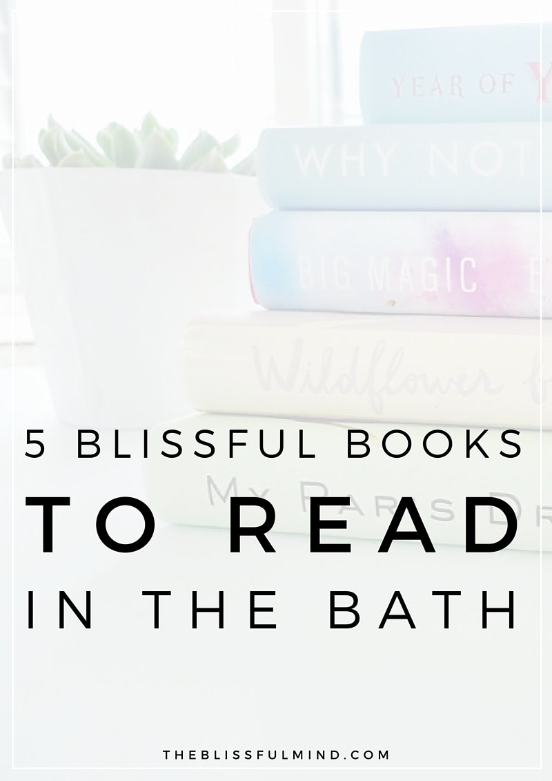 5 Blissful Books to Read in Bath featuring Aura Cacia Body Soaks