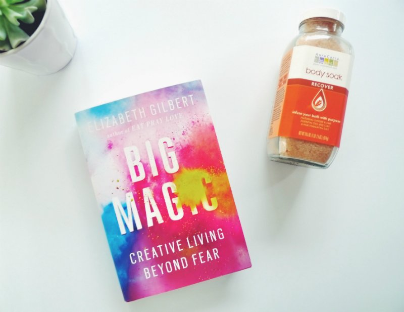 5 Blissful Books To Read In The Bath - Big Magic by Elizabeth Gilbert