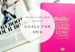 Health Goals 2016 Featured
