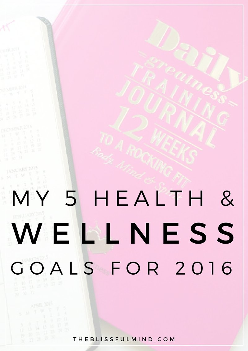 #BeBold2016 Linkup: Health & Wellness Goals for 2016