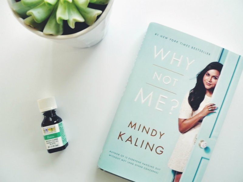 5 Blissful Books To Read In The Bath - Why Not Me? by Mindy Kaling
