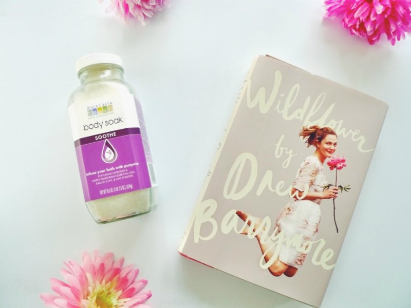 5 Blissful Books To Read In The Bath - Wildflower by Drew Barrymore