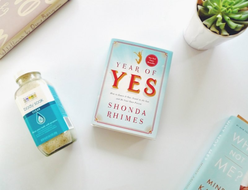 5 Blissful Books To Read In The Bath - Year of Yes by Shonda Rhimes