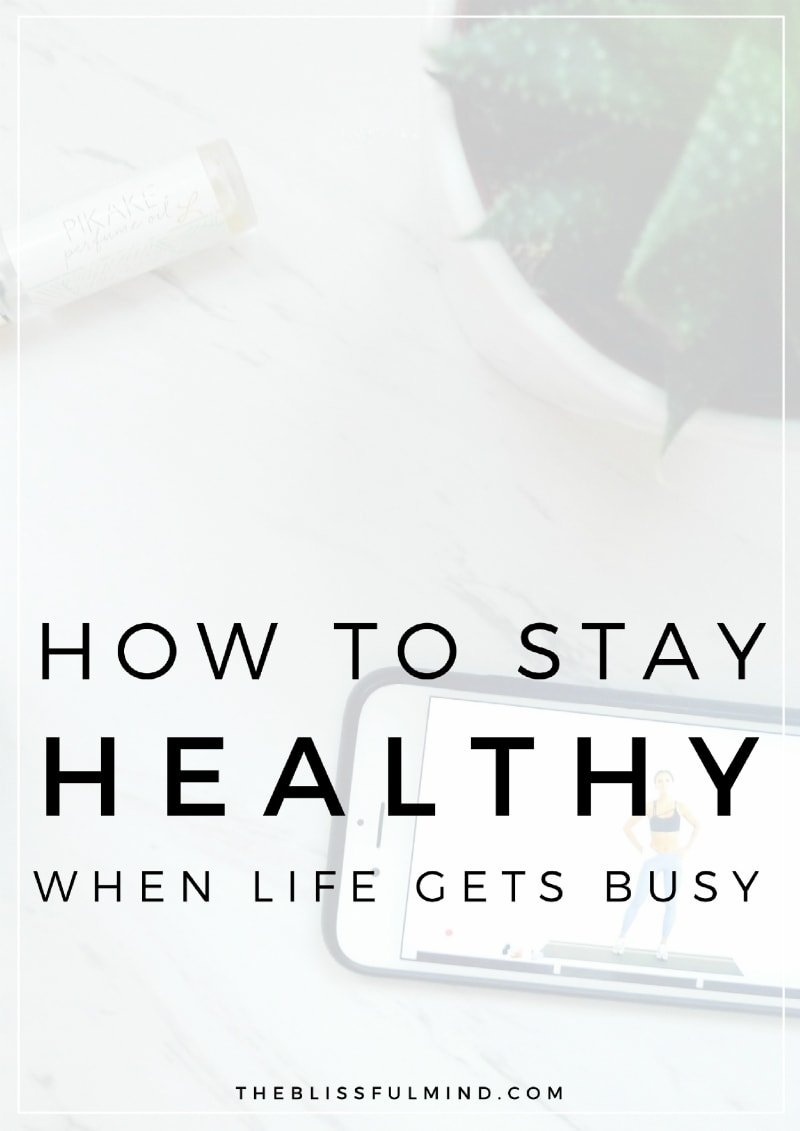 When it comes to healthy living, how can we stay on track when life gets in the way? Here are 3 ways to balance your healthy and busy lifestyle!