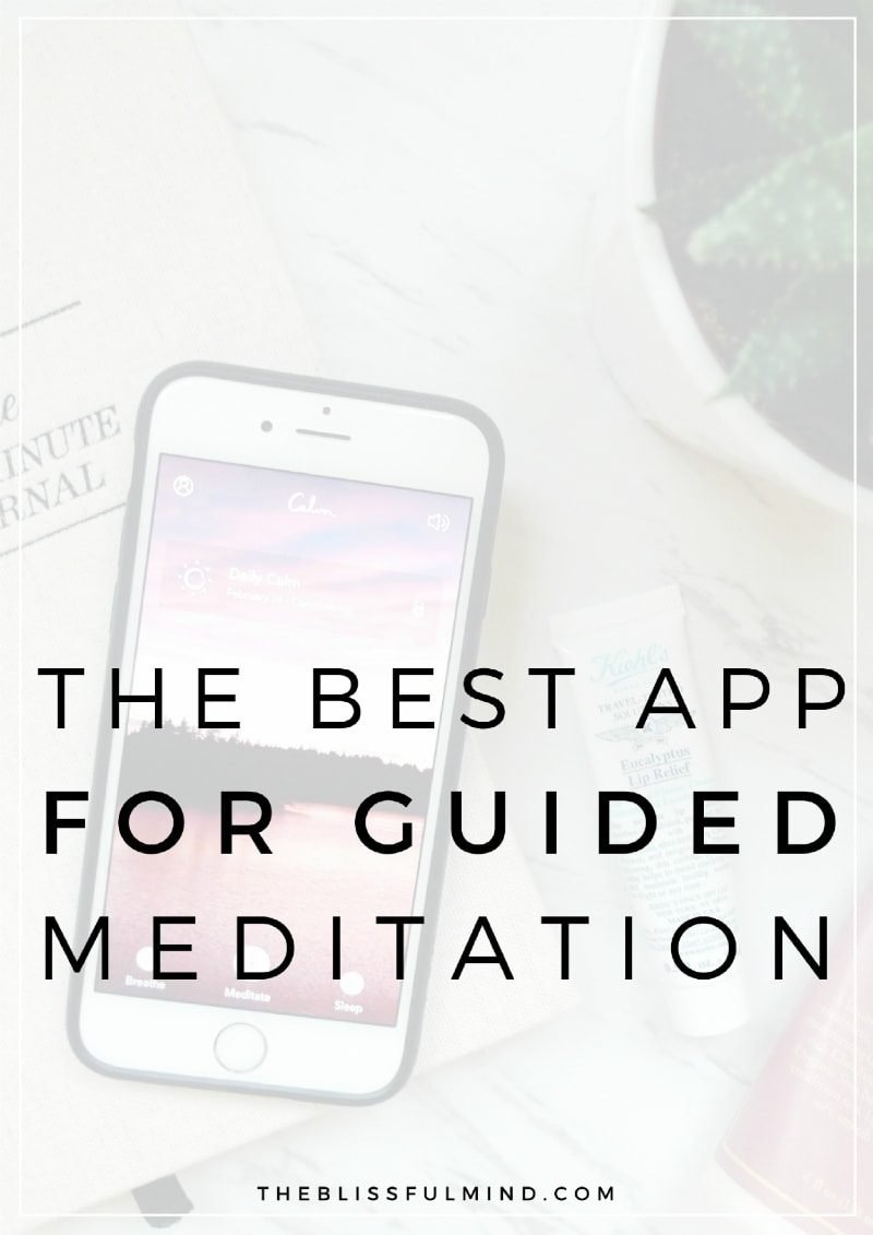 Why Calm is my favorite app for guided meditation. Keep reading to see my Calm app review and why you should use it!