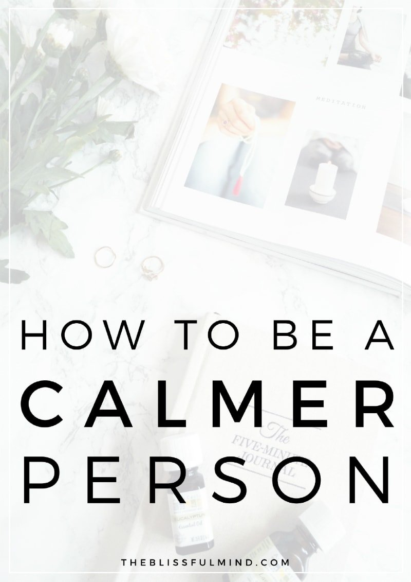 Ready to become a calmer person? Learn how to deal with anxiety and frustration using three simple techniques.