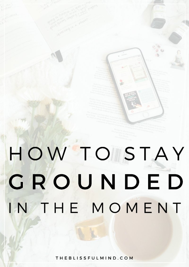 Struggling with anxiety and constantly overthinking? Here's a simple practice to help you get grounded when your head's in the clouds!