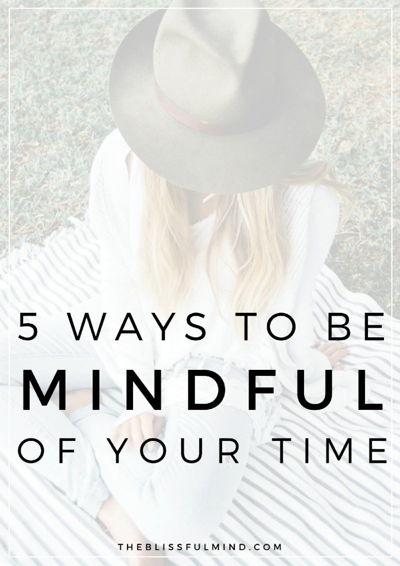 Do you feel like you have no time for yourself? Are you constantly saying yes to other people? Read this post to learn how to get more mindful about your time and stop over-committing yourself!