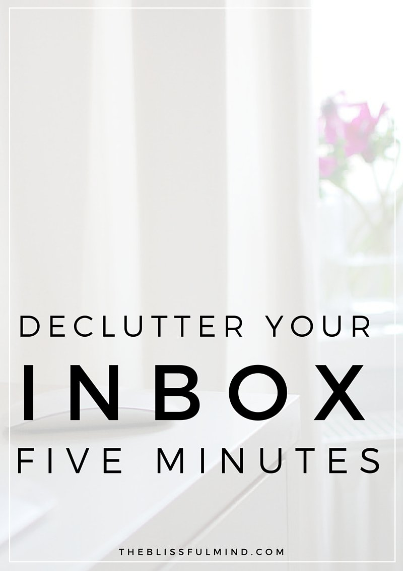 How to get your email inbox down to zero in five minutes and keep it that way!