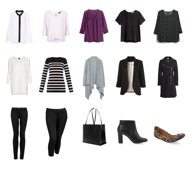 Capsule Wardrobe Winter Office Edition