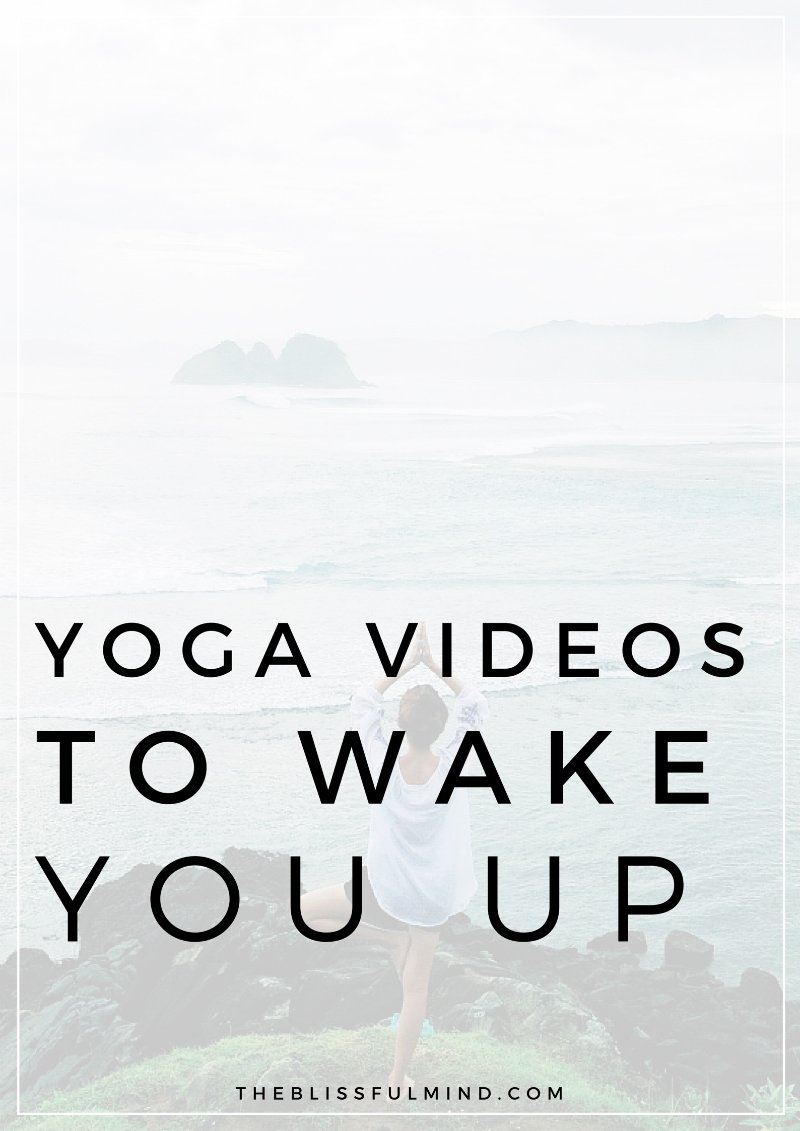 Wake yourself up and get pumped for the day with these 5 energizing yoga videos!