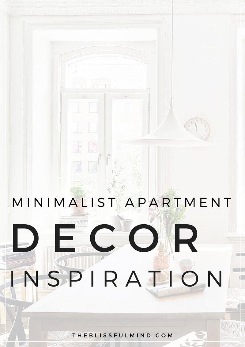 Minimalist Apartment Decor Inspiration