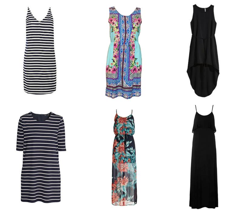 Spring & Summer Capsule Wardrobe Dresses