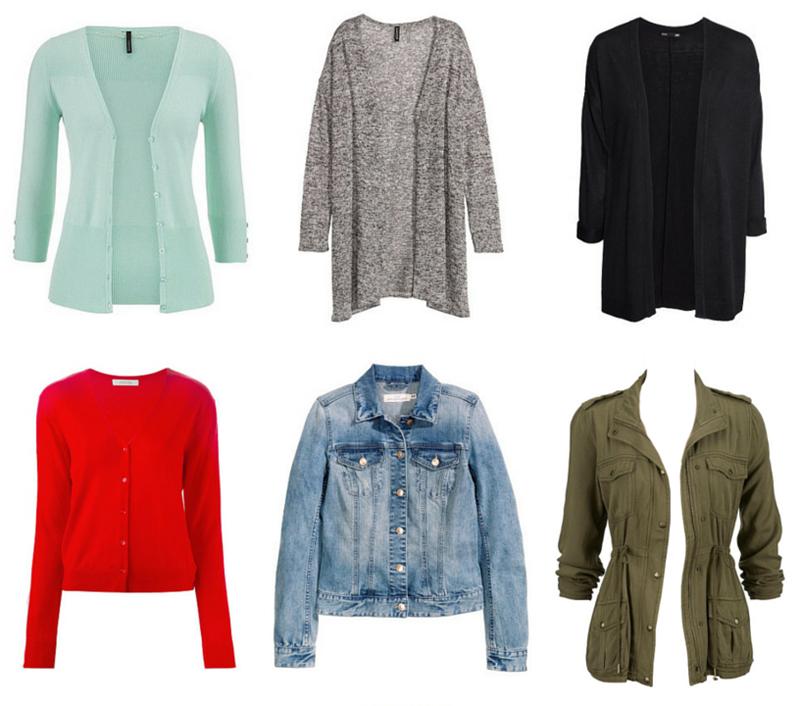 Spring & Summer Capsule Wardrobe Outerwear