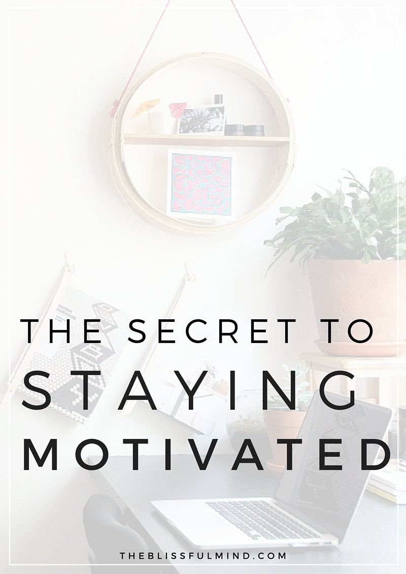 Have you been searching for inspiration, trying to find the motivation to start something? Here's how to never feel that way again!