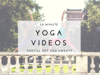 Sweaty Yoga Videos Thumbnail