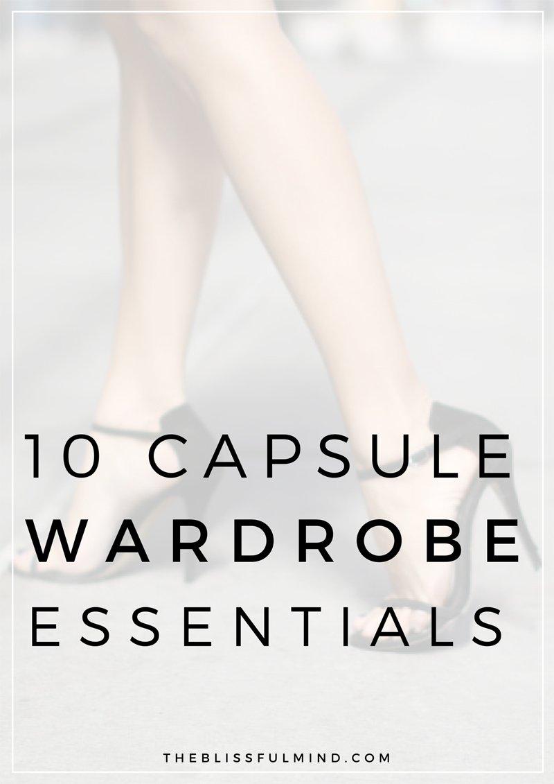 Capsule Wardrobe Basics