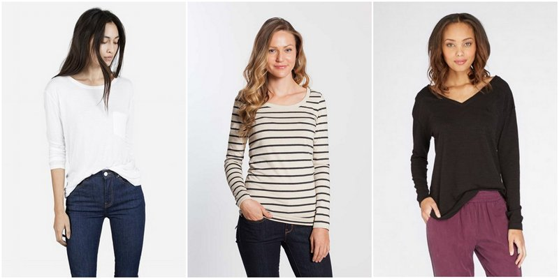 Capsule Wardrobe Basics: Long Tees