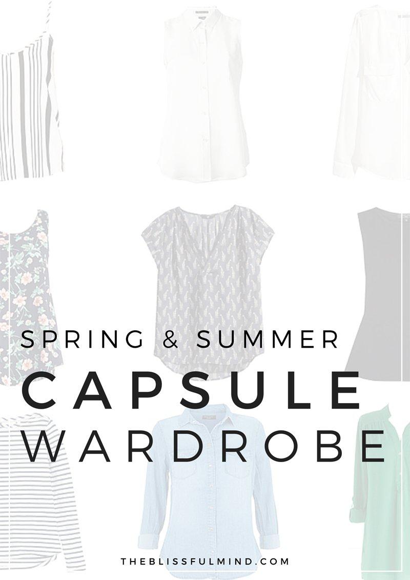 Spring & Summer Capsule Wardrobe