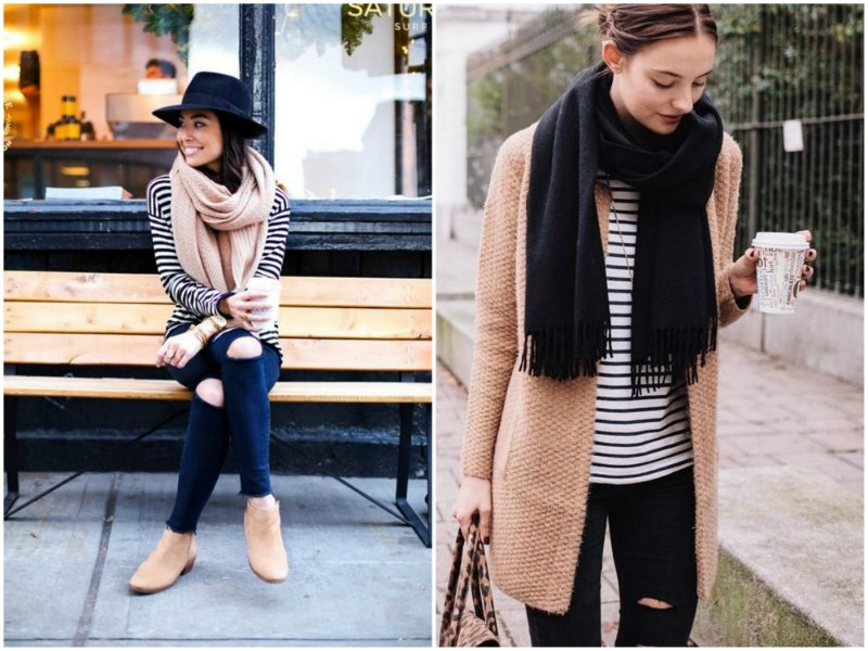 scarf with sleeves how to wear