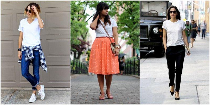 Capsule Wardrobe Basics: Plain White Tee