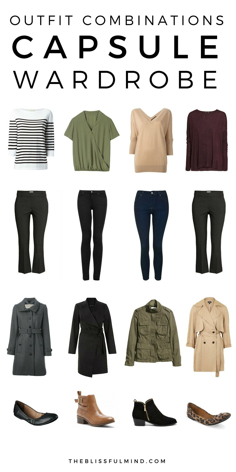 Capsule Wardrobe: 36-Piece Fall Winter Capsule Wardrobe