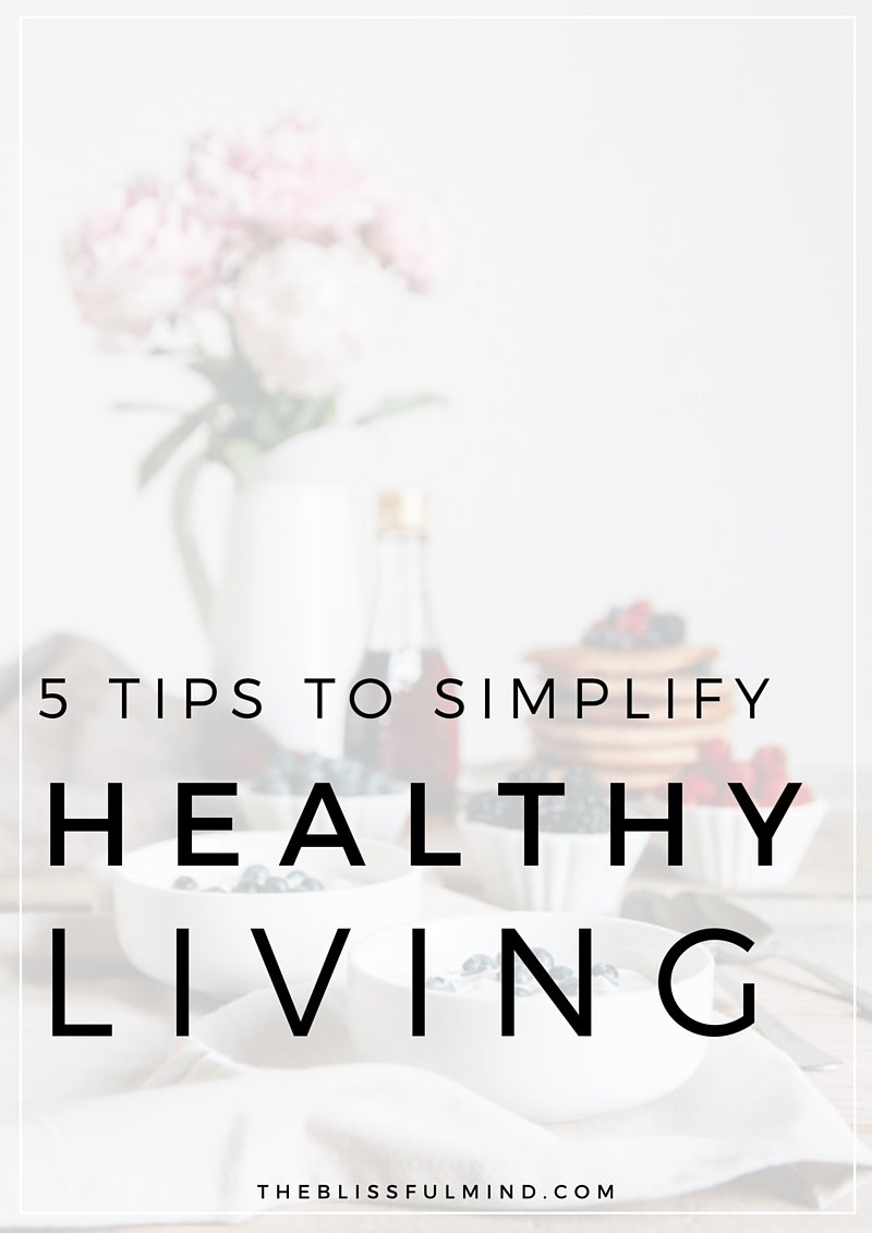 Is your health getting pushed down the priority list because of a busy schedule? Here's how to shift your mindset and make healthy living a whole lot easier!