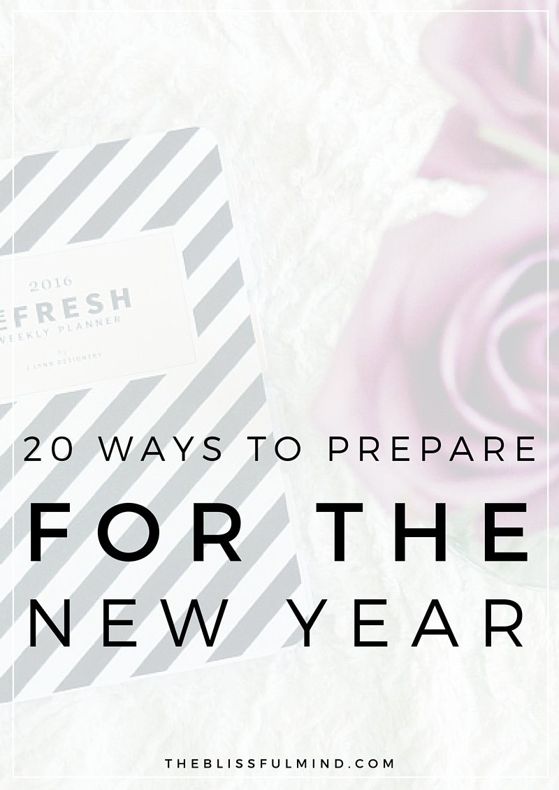 A guide to help you reset your frame of mind, reflect on what happened in the past year, and recharge your batteries so you can start the new year with a solid plan of attack! Dream big and go get 'em!