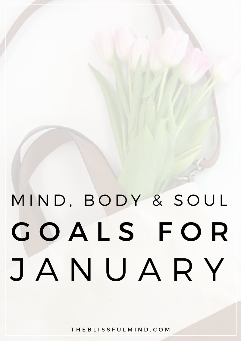 The Blissful Mind Goals for January 2016