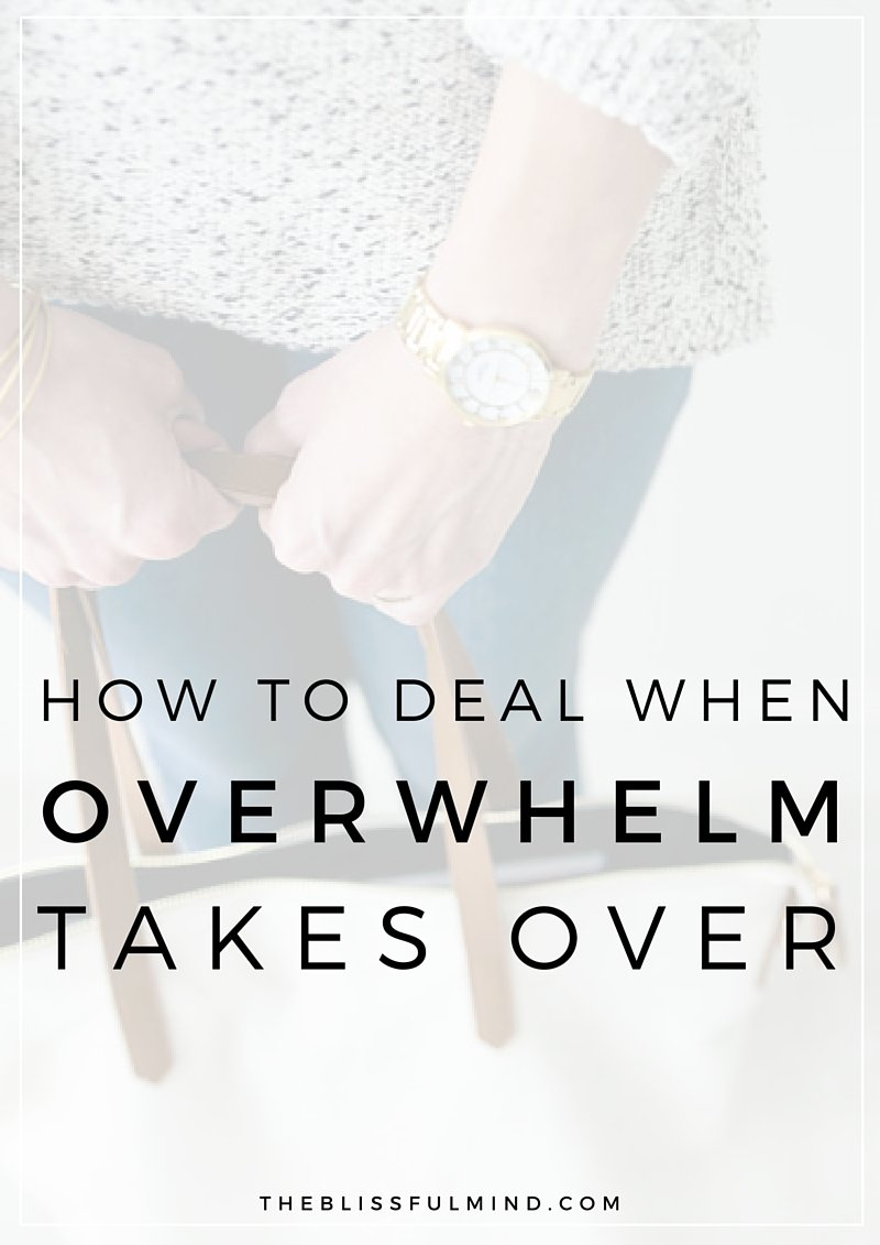 If you're feeling totally overwhelmed with everything you need to do and you have no idea where to start, here are 5 tips to help you deal with the madness!