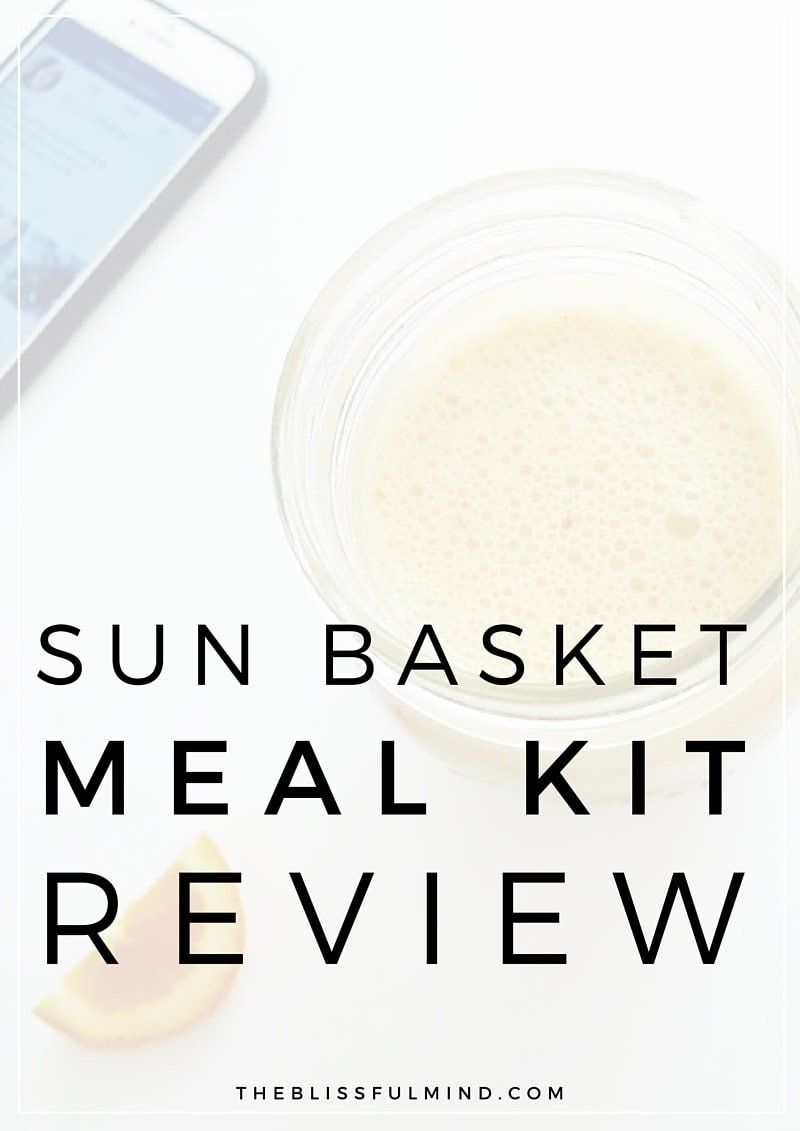 Want to make healthy eating a little bit simpler? Sun Basket delivers delicious and healthy ingredients to your door every week!