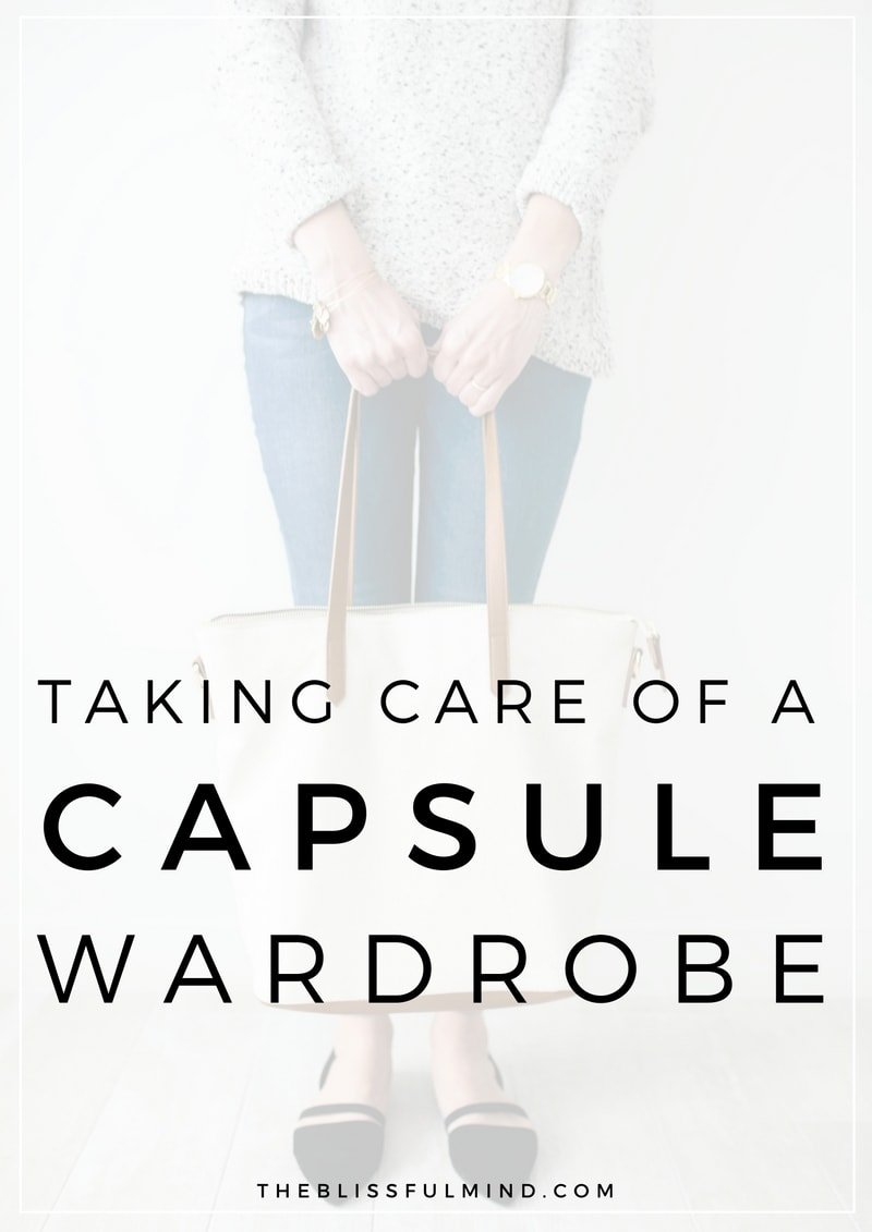 If you have a capsule wardrobe or are interested in starting your own, laundry can be a concern for some people. Here are 5 tips for taking care of your capsule wardrobe to keep it looking new all season long!
