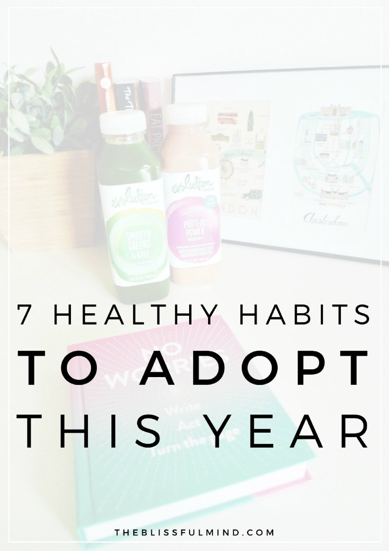 How exactly do we commit to a healthy lifestyle without feeling overwhelmed? To make it a little easier, here are seven simple habits that will positively impact your health and happiness and encourage you to thrive this year!