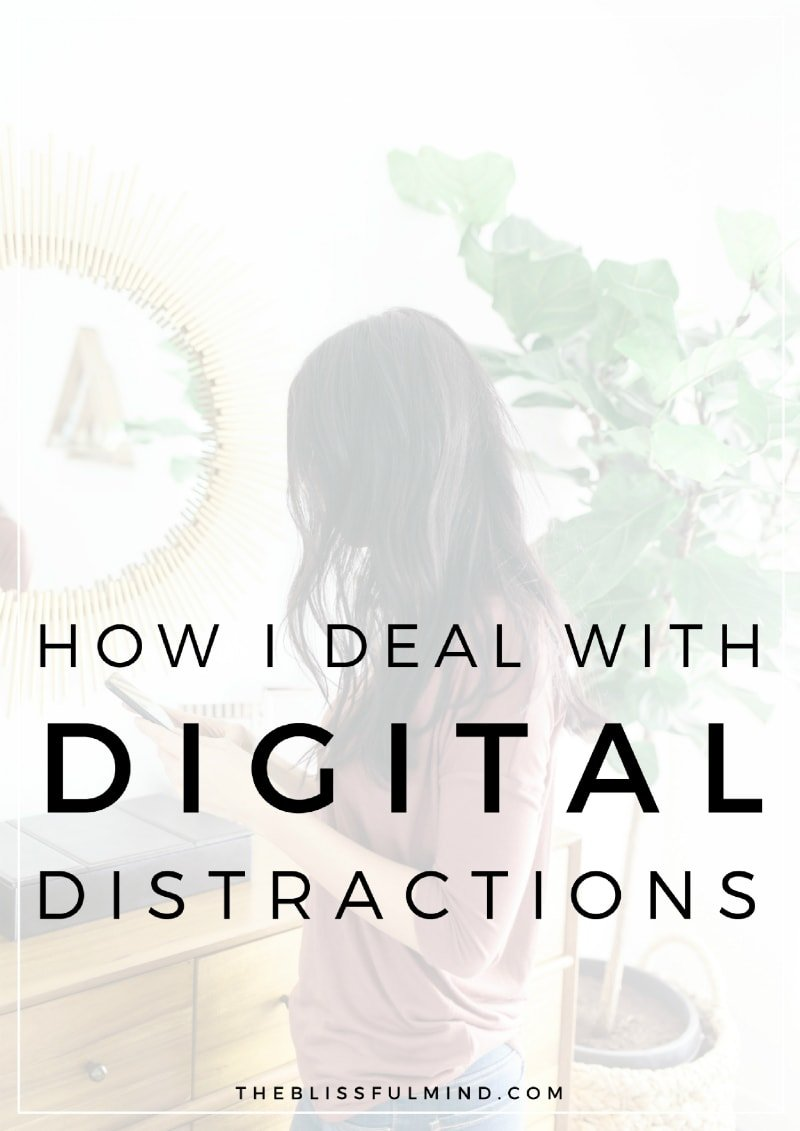Do you struggle to focus and stay productive with distractions stealing your attention? Here's how I deal with my biggest distractions and keep my productivity levels up!