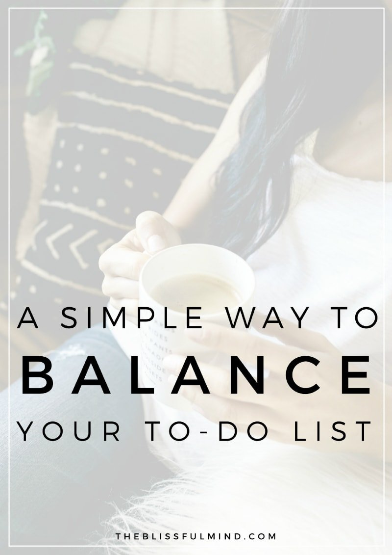 If you're struggling to balance a million things at once and still make time for self-care, try this simple time management method for your to-do list!