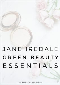 Interested in adding more green beauty makeup products into your self-care routine? Here are my favorite from Jane Iredale, the skincare makeup!