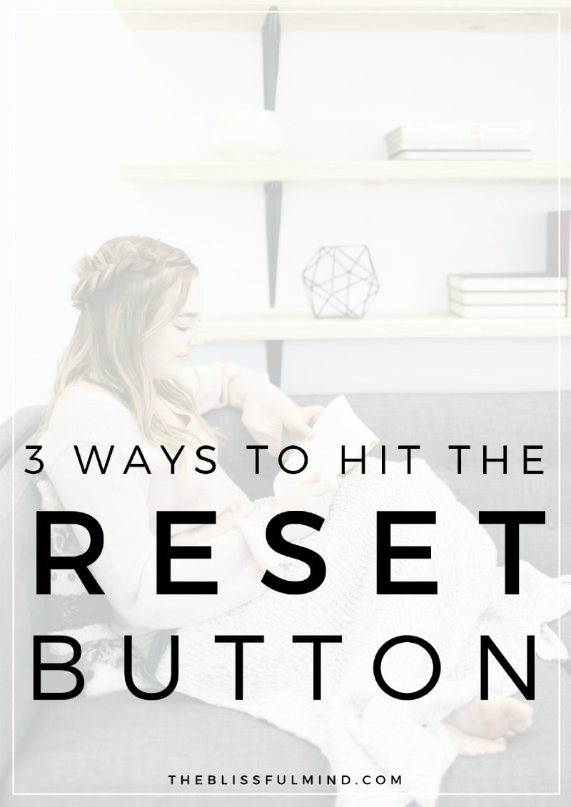 Feeling overwhelmed and disconnected with yourself? Here are 3 tips to help you recharge your batteries when your energy is low.