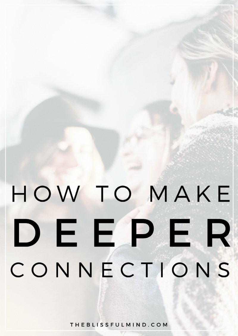 Feeling like you need more connection in your life? Here's why connection to yourself and others is so important plus 4 simple tips for how to feel connected in life!