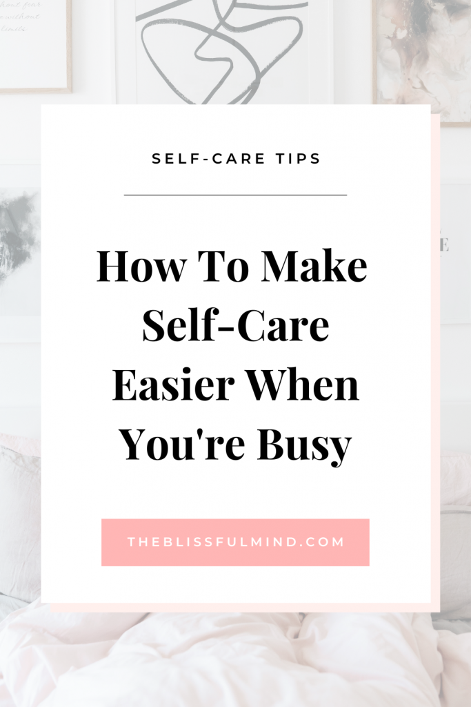 Does self-care feel complicated or unattainable? It doesn't have to be that way! In order to practice self-care regularly, we need to take it back to the basics and start slow. Here are 5 ways you can simplify your self-care routine!