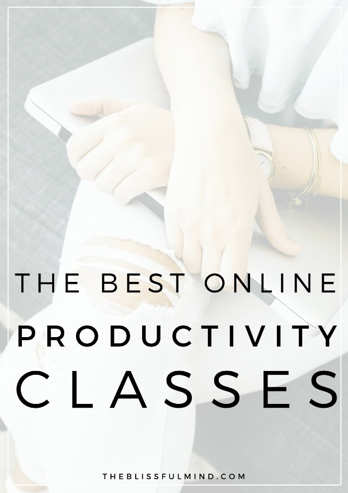 Want to learn the best tips and tricks for staying productive? Here are five online productivity classes that will help you become a more productive person!