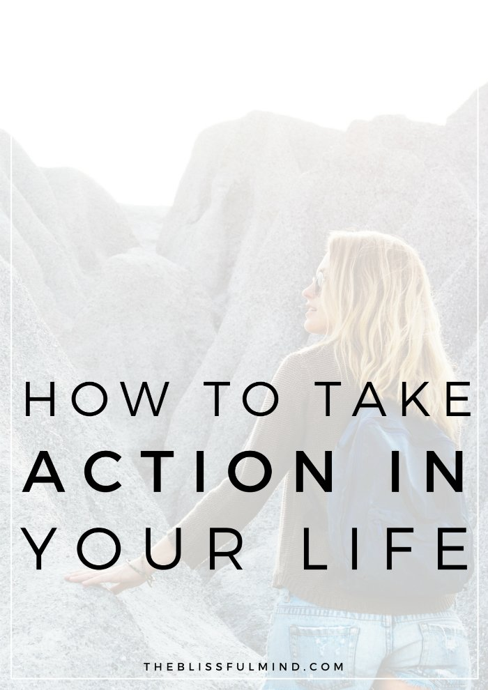 What's stopping you from taking action on your dreams? Learn how to take action on the things you've been putting off, even when you don't feel ready!